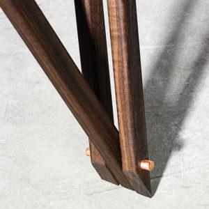 Noyer sofabord ben i træ