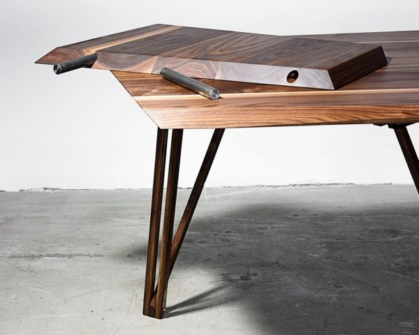 Designer spisebord fra Noyer i træ