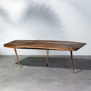 Noyer dansk designet sofabord