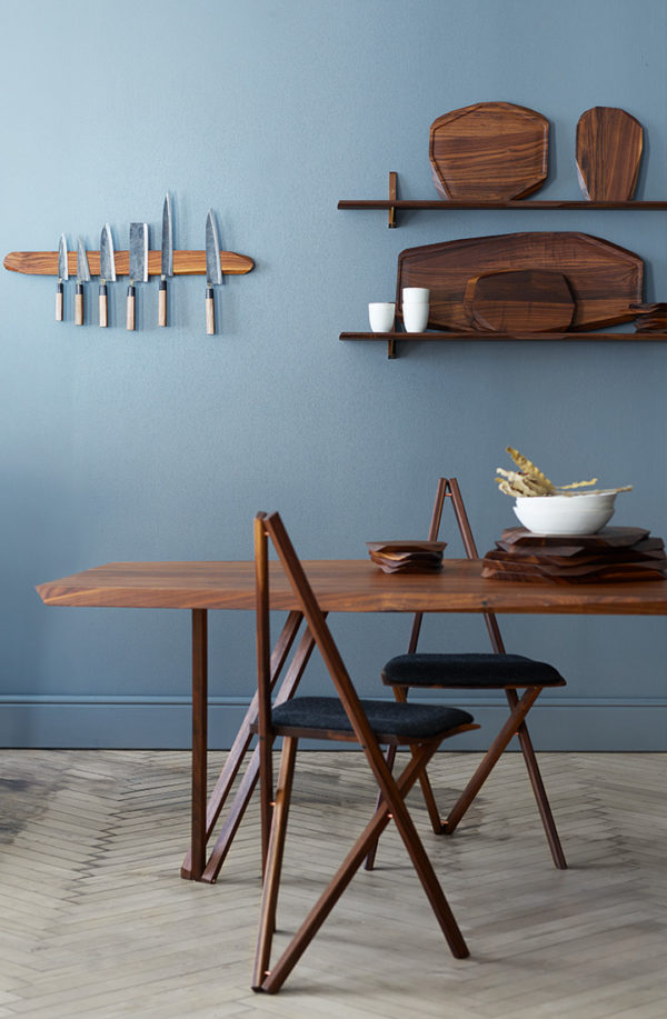 Spisebordsstol i køkken miljø